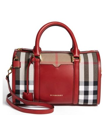 'Alchester - Medium' Crossbody Satchel By Burberry