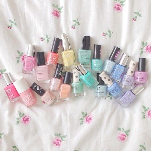 Best Spring Pastel Nail Polishes