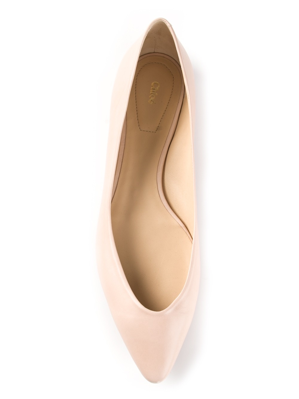 CHLOÉ Pointed toe flat
