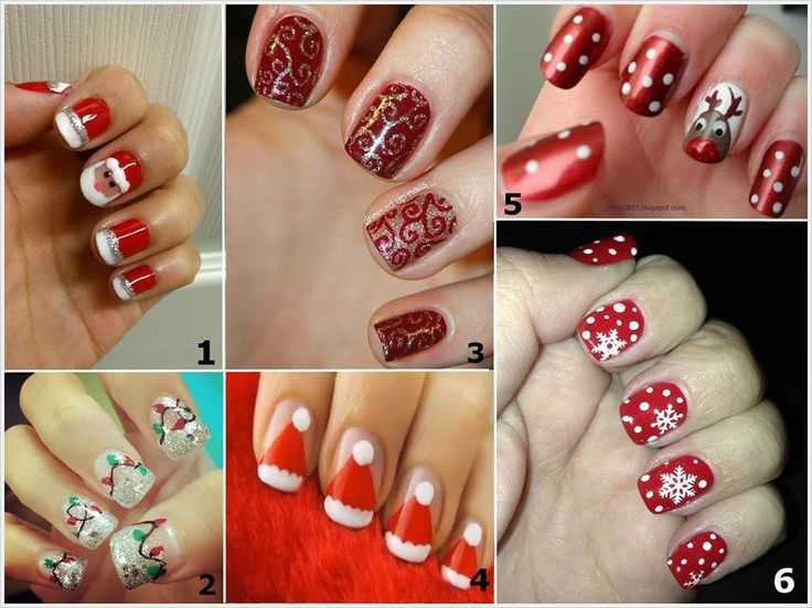Christmas Nail Arts Theme Celebrity Fashion Outfit Trends And