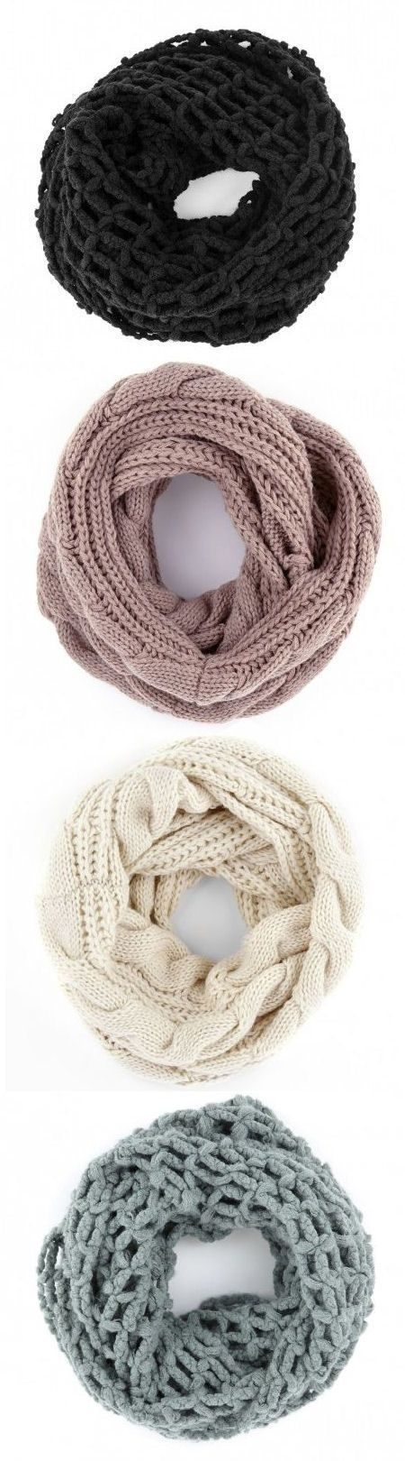 Cozy Knit Scarves for Winter