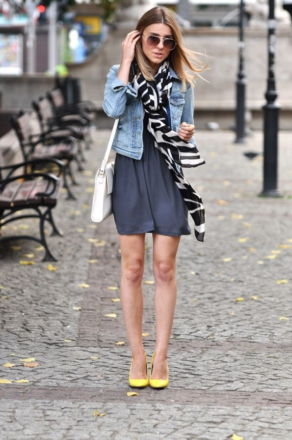 Denim Jacket Dtreet Style