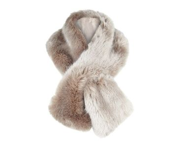 Jacques Vert Palomino Luxury Faux Fur Scarf