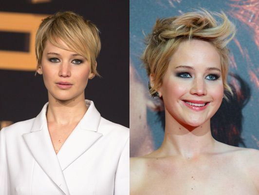 Jennifer Lawrence Short Hair Style