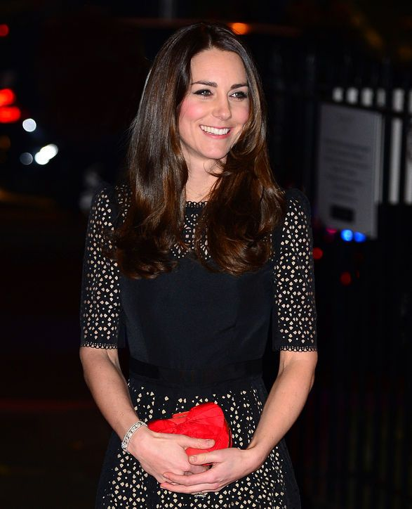Kate Middleton Colored dark Hair