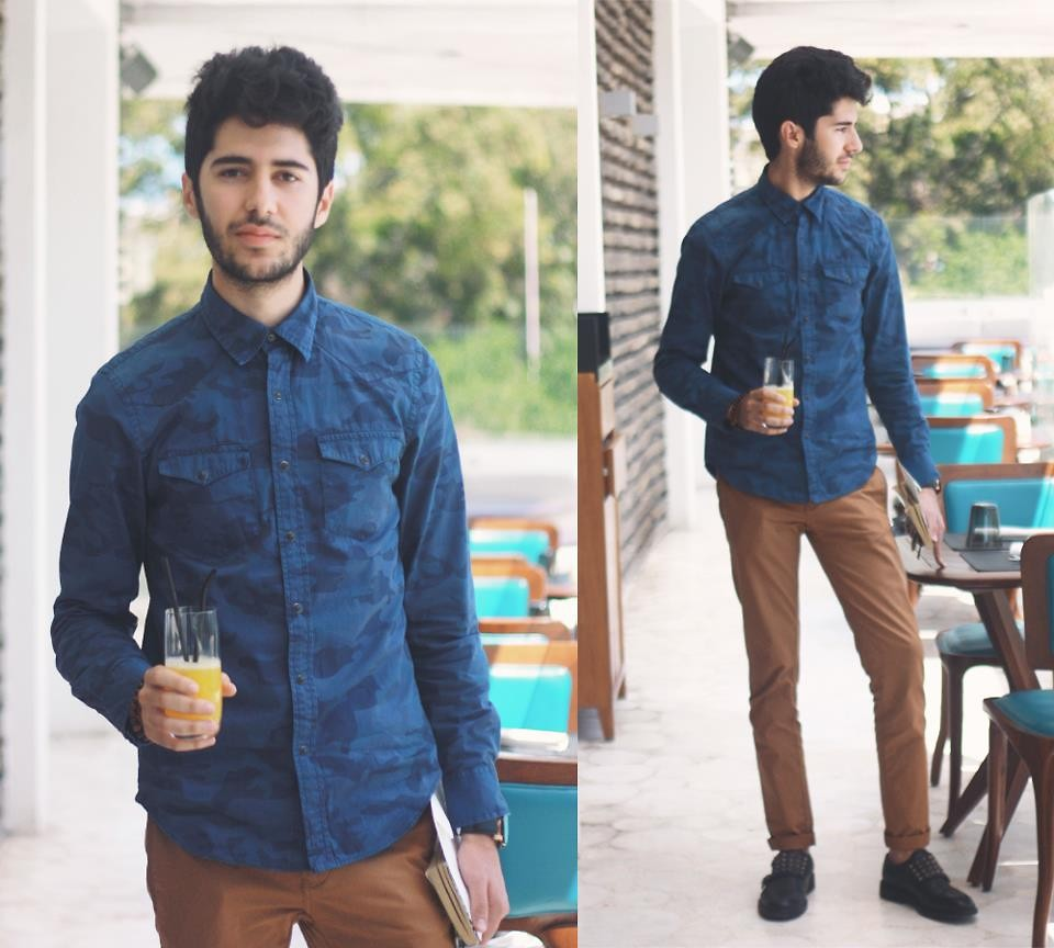 Men Fashion Blogger Khalil Zdaa Fashion Secret