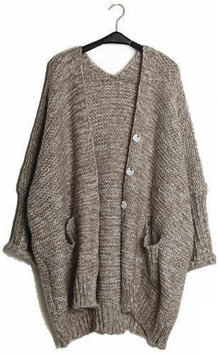 Loose cardigan sweater