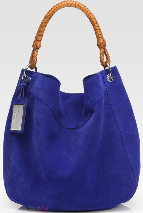 suede bag by Ralph Lauren