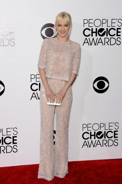 Anna Faris At People's Choice Awards 2014