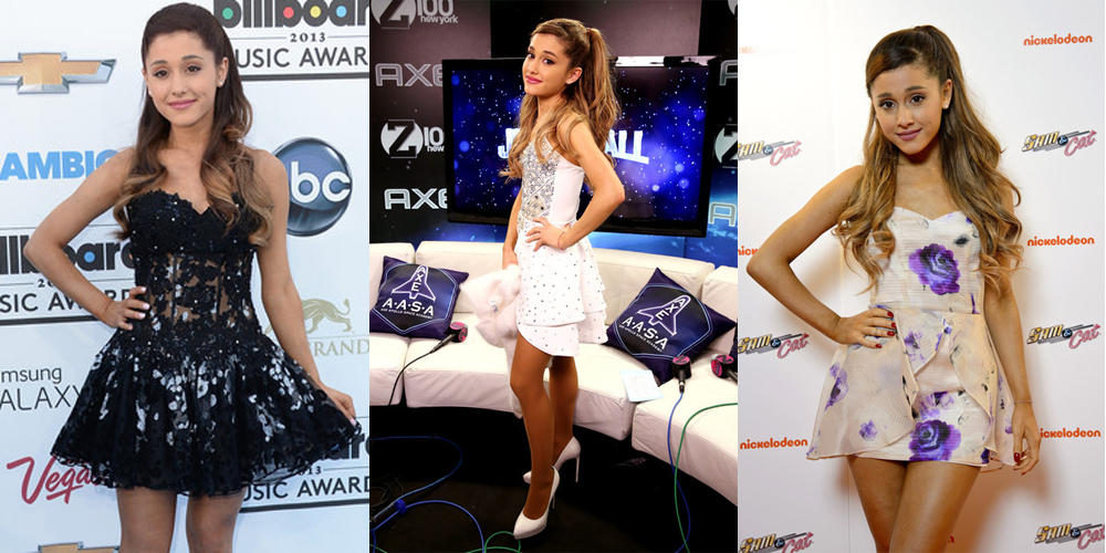 Ariana Grande Dresses In Red Carpet Moments