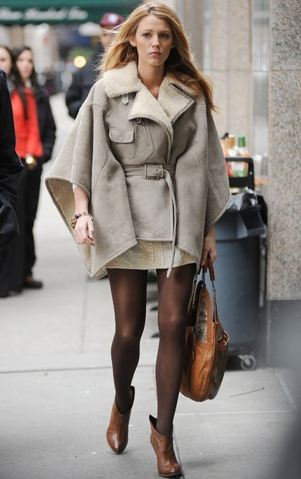 Blake Lively Winter Street Style