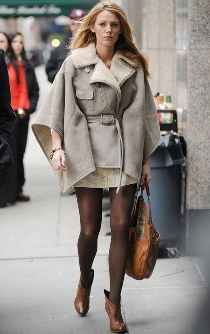 Blake Lively Winter Street Style