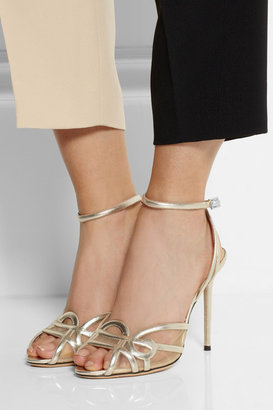 Charlotte Olympia Sugar High leather sandals