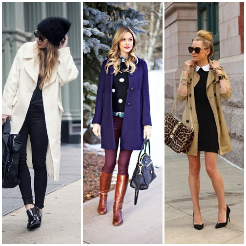 Keep Warm And Fashionable With Coat Dress » Celebrity Fashion ...