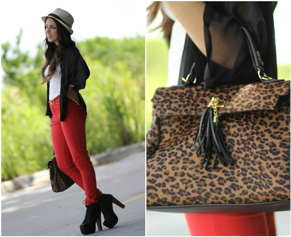 Leopard Bag Makes an outfit