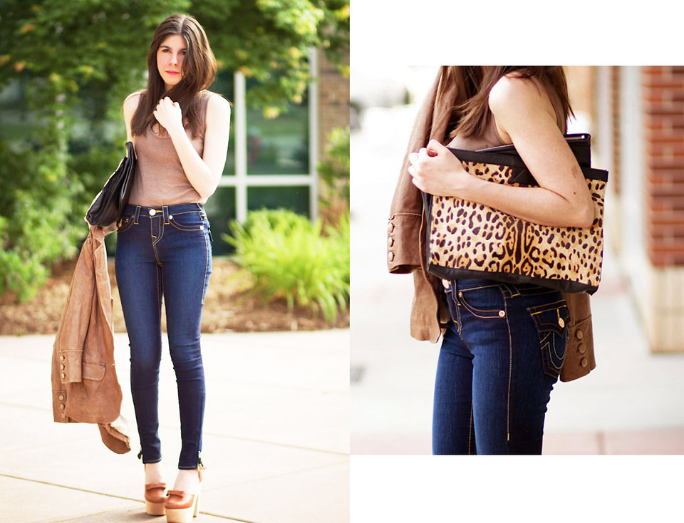 Leopard Handbag Fashion outfit