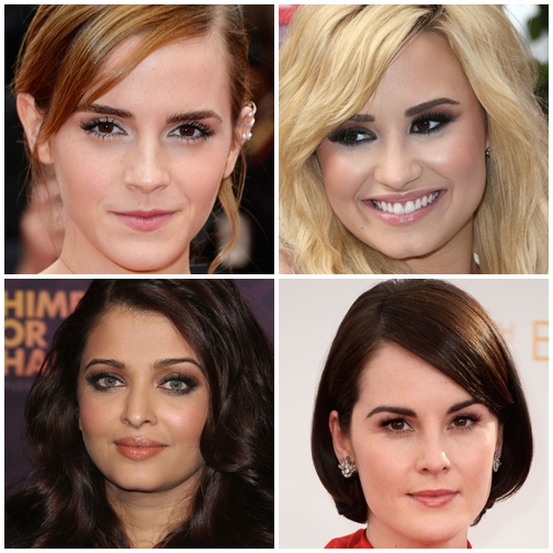 Perfect Celebrities False Eyelashes Make-Up