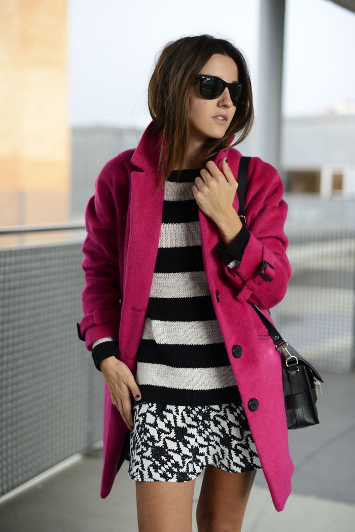 Pink Lovely Coat Dress
