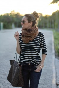 Printed Scarf Outfit