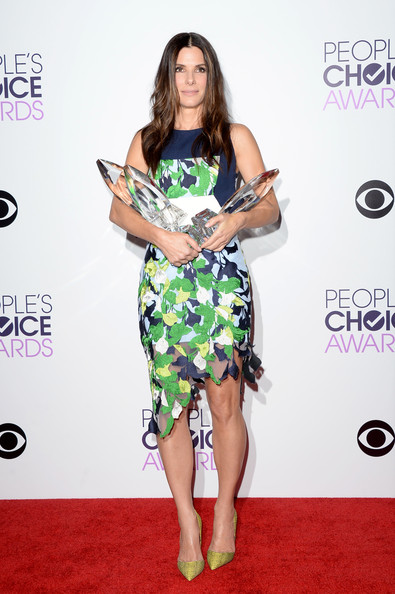 Sandra Bullock At People's Choice Awards 2014