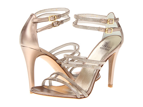 Stuart Weitzman & Evening Collection - Stopstraffic (Beige Supple Kid) - Footwear
