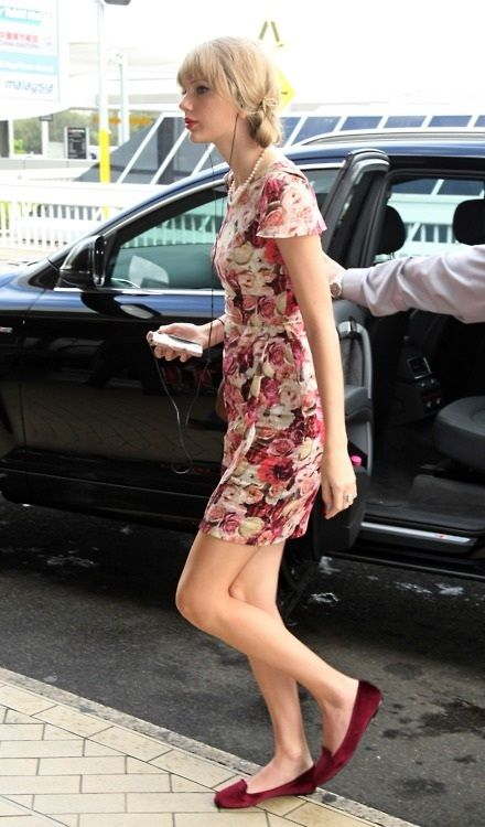 Taylor Swift Floral Dress