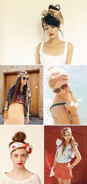 Trend DIY  Scarf Headband