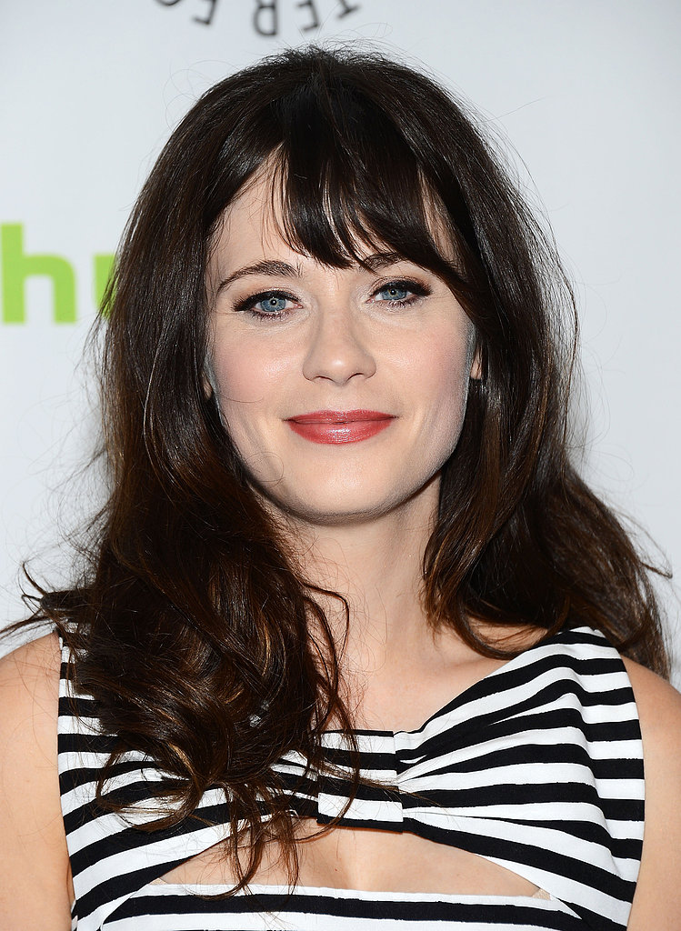 Zooey Deschanel Hair Looks