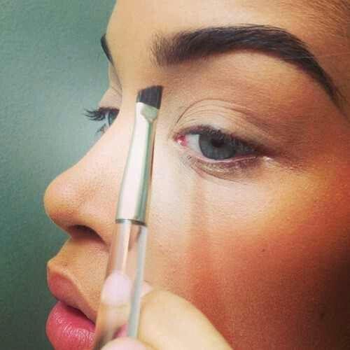 pretty eyebrows