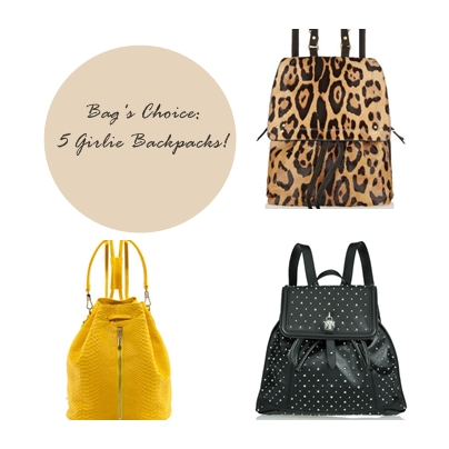 Bag's Choice 5 Girlie Backpacks