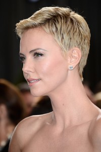 Charlize Theron Pixie Cuts