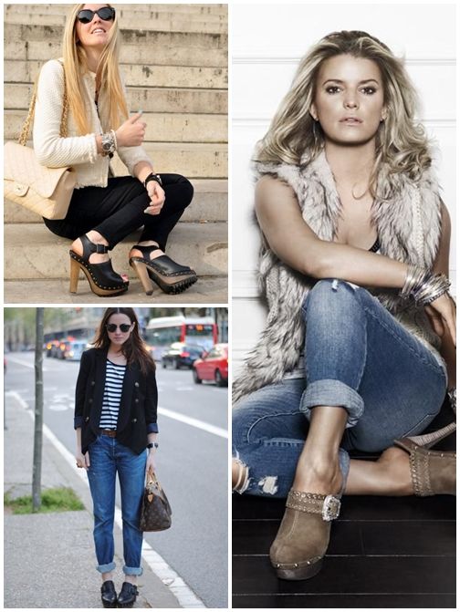 Trend Clog with Outfit