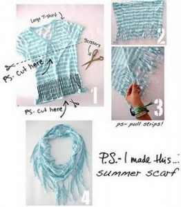 DIY Summer Scarf
