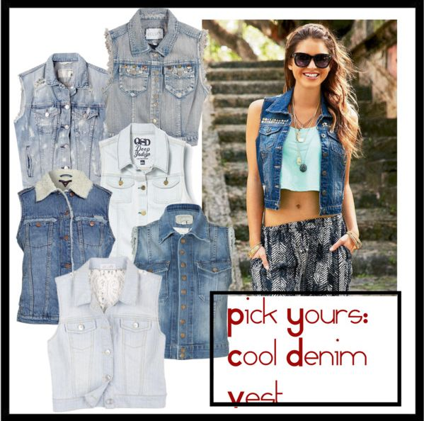 Denim vest Collection