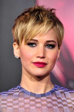 Jennifer Lawrence Pixie Hair Cut