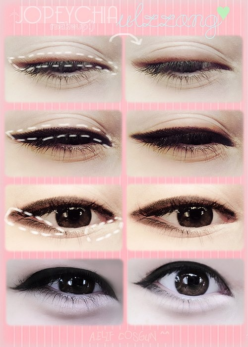 Korean Eyeliner Steps