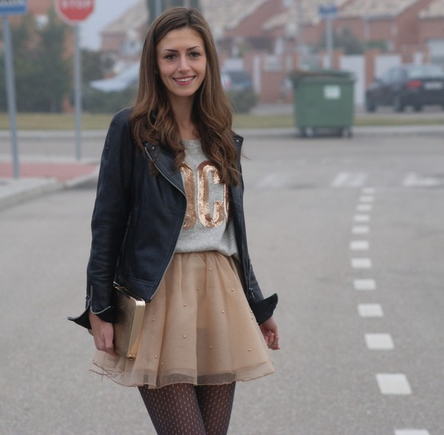 Rocker Style With Tutu Skirt