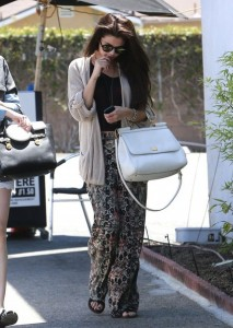 Selena Gomez Street Style Cardigan