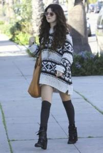 Selena Gomez Winter Style