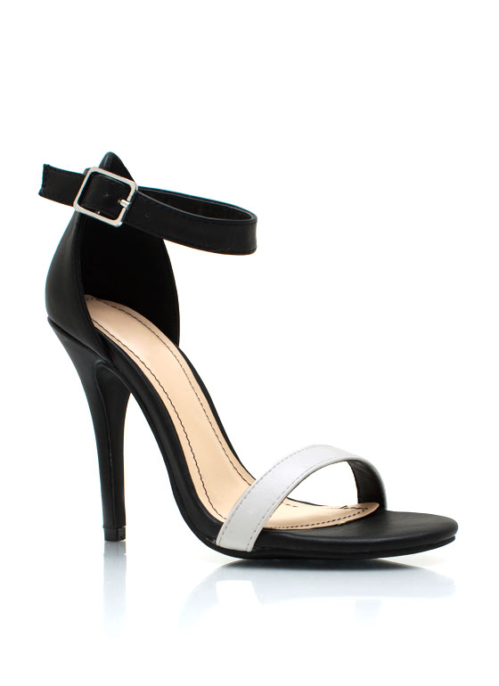 Strappy Single Sole Heels
