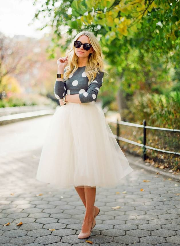 Tutu Ballerina Skirt Outfit