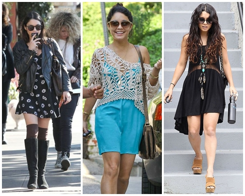 2ad21e8edf8 Vanessa Hudgens Dress Up Style Inspirations » Celebrity Fashion ...