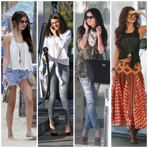 most sophisticated of selena gomez street style