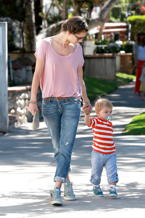 Alessandra Ambrosio has a day out with her Little Ones Mom style