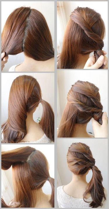 Cute ponytails hairstyles