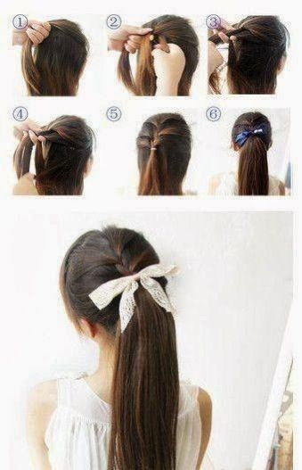 Easy Ponytail Tutorial