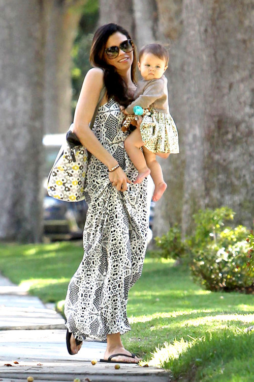 Jenna Dewan-Tatum and Everly