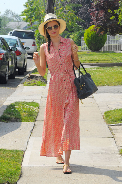 Miranda Kerr Print Dress