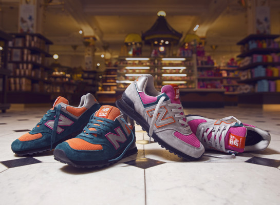 Size Harrods x New Balance 574 Collection