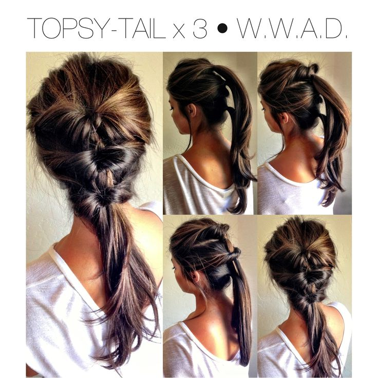 easy ponytails hairstyle for summer